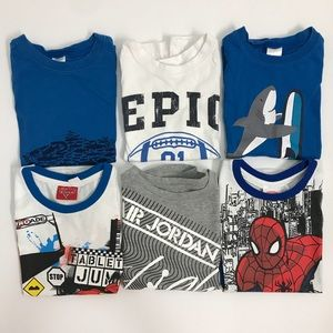 Various Boys Sleeveless T-shirts 4/4T